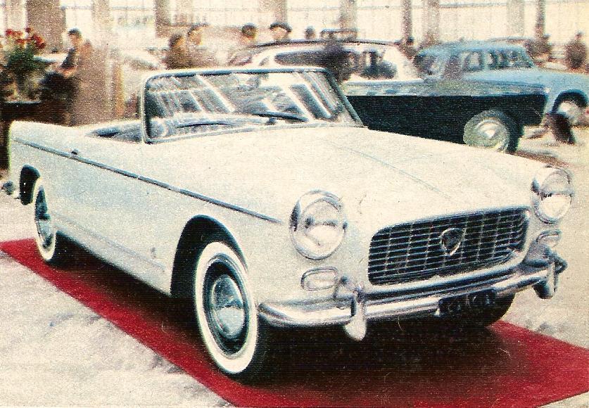 1957 Lancia Appia spider 11