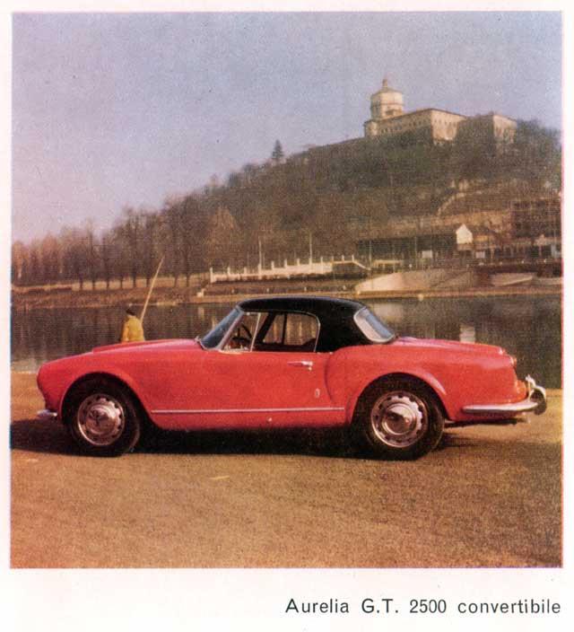1957 lancia aurelia gt-2500-conv