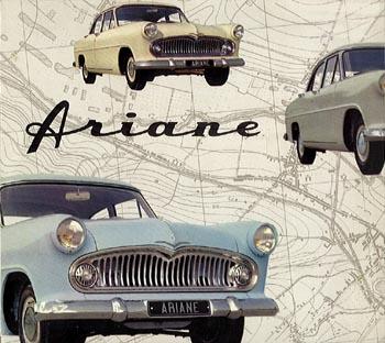 1957 simca arianea