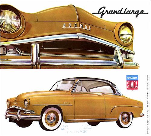 1957 Simca aronde GL