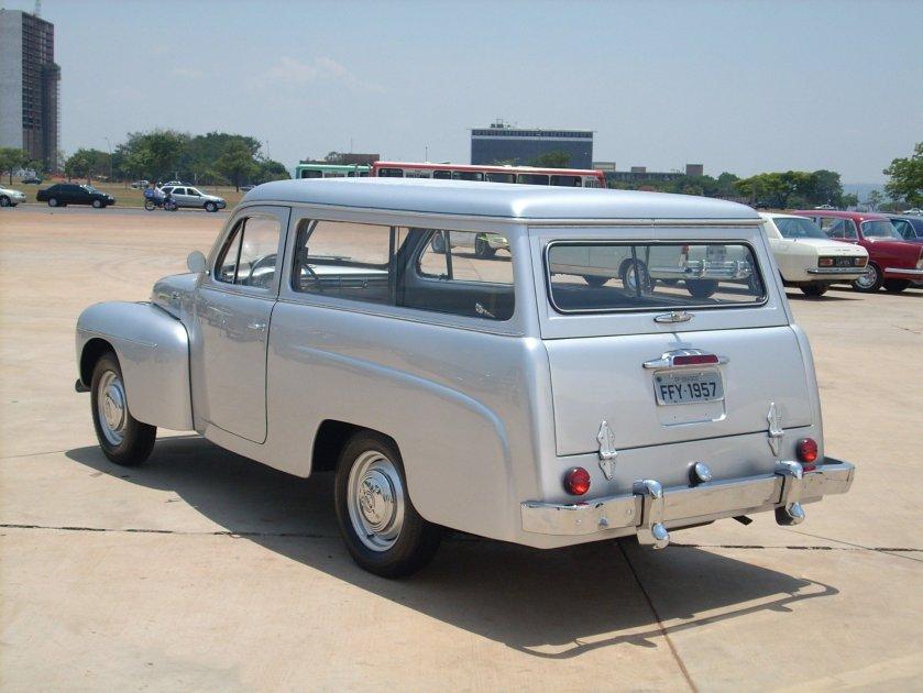 1957 Volvo PV445 Carbrasa