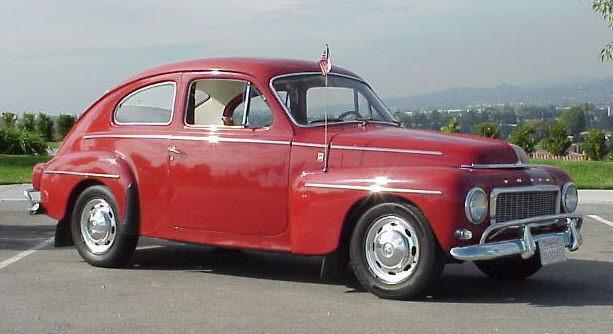 1957 Volvo PV544 3