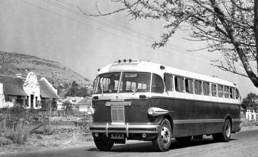 1958 Brill Bus Can