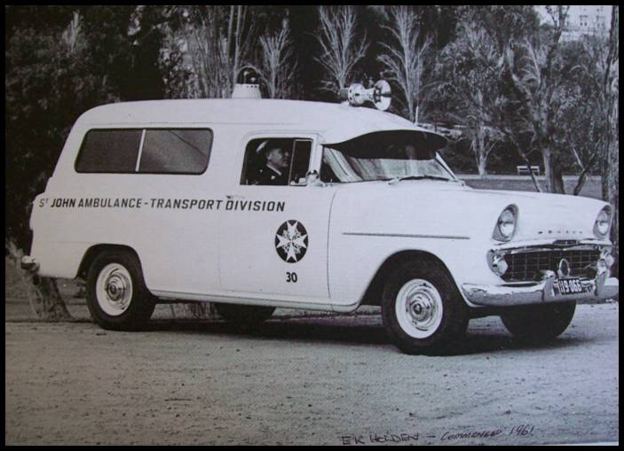 1958 FC Holden Ambulance Picture