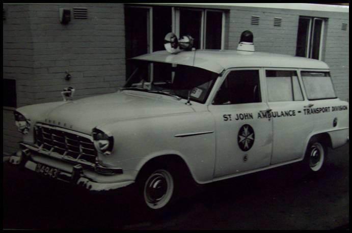 1958 FC Holden Ambulance
