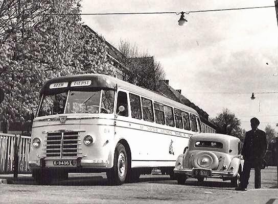 1958 Guy-Arab nr. 89 met carrosserie van Verheul. De bus had 45 zit en 10 staanplaatsen