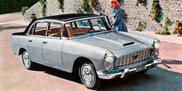 1958 lancia flaminia b
