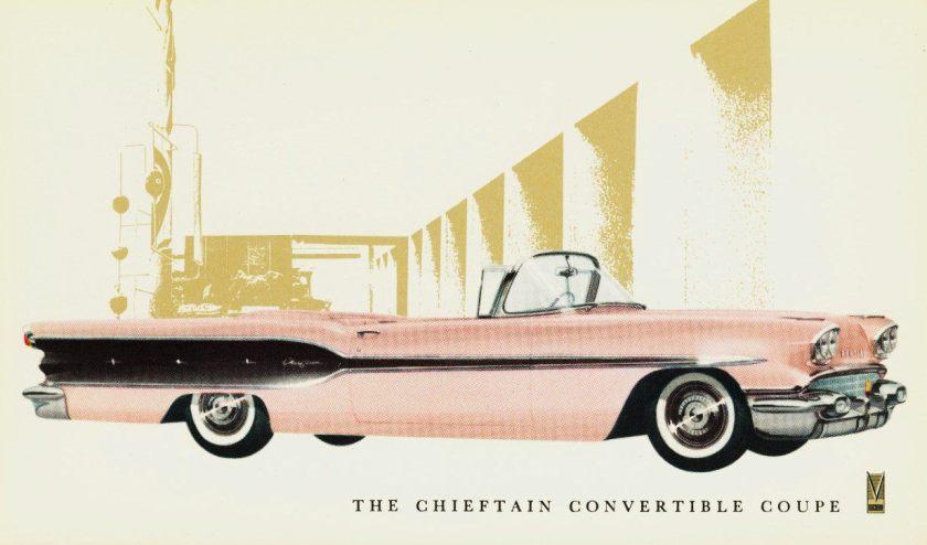 1958 Pontiac Chieftain ad