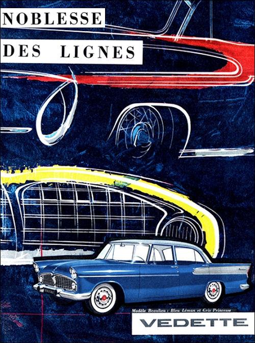 1958 Simca ad