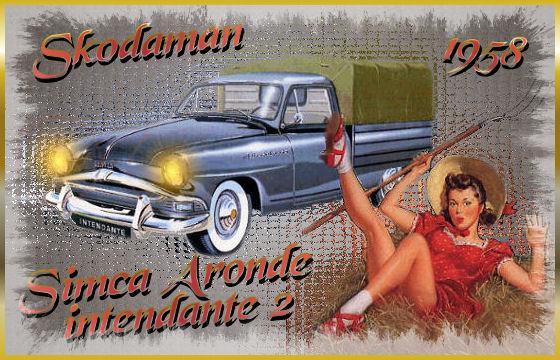 1958 Simca Aronde Intendante 2 ad