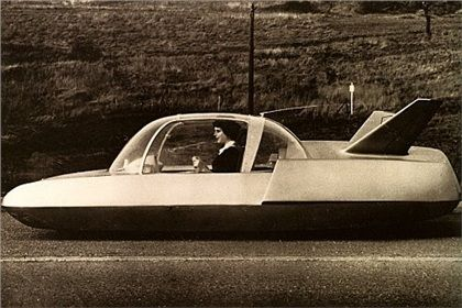 1958 Simca Fulgur concept car