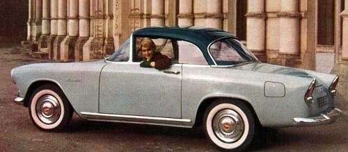 1958 Simca plein ciel