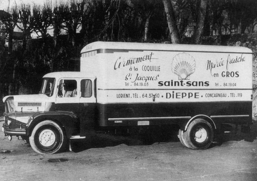 1958 UNIC Puymorens, 4 cyl couchette