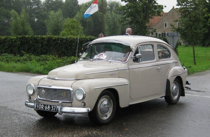1958 Volvo P54405 A, 4 cylinder