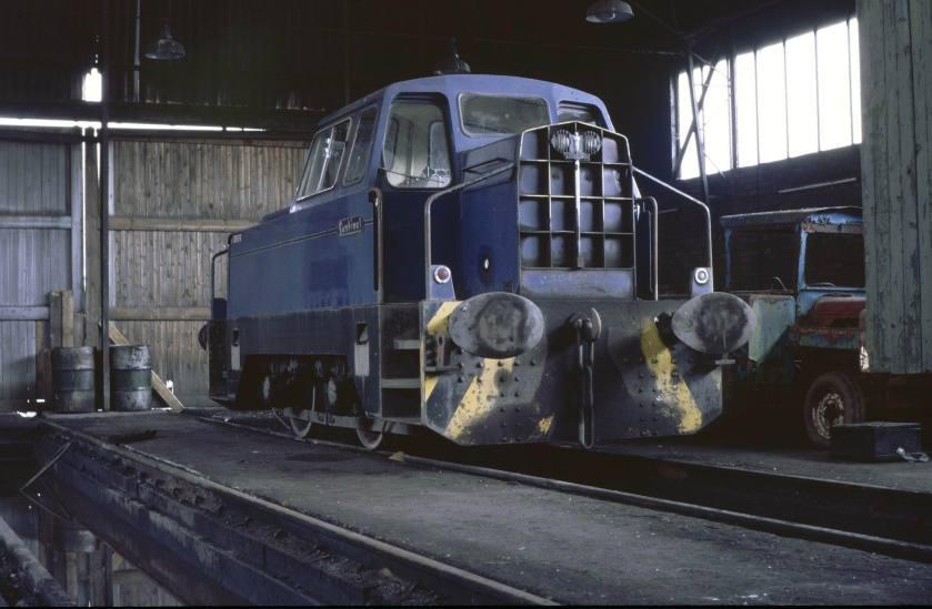 1959 4wDH (Sentinel 1959) Dunaskin Shed, BCOE