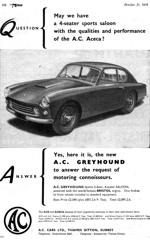 1959 AAC greyhound oct ad