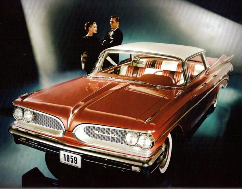 1959 Pontiac Bonneville Vista 4-Door Hardtop