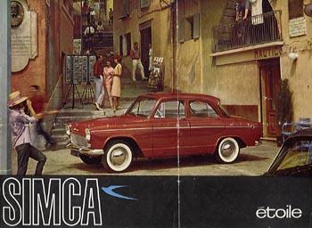 1959 simca aronde p60a