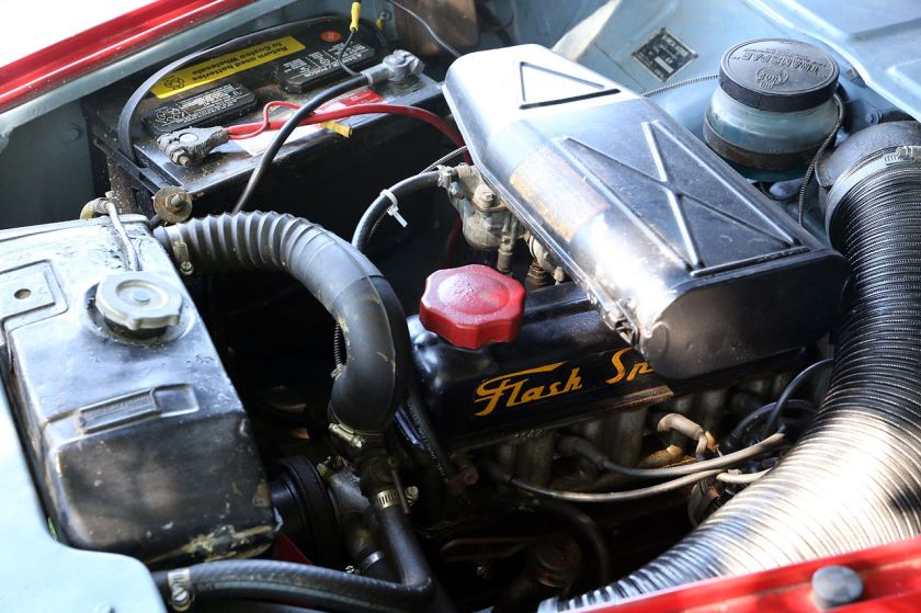 1959 The Flash Spécial engine in a 1959 Aronde Océane, with 57 hp