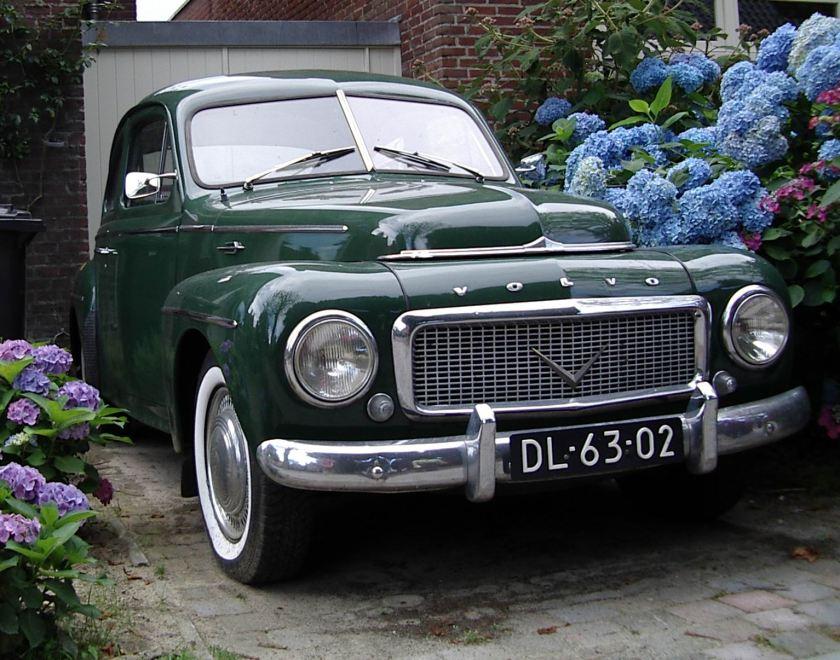 1959 Volvo PV 544 Kattenrug a
