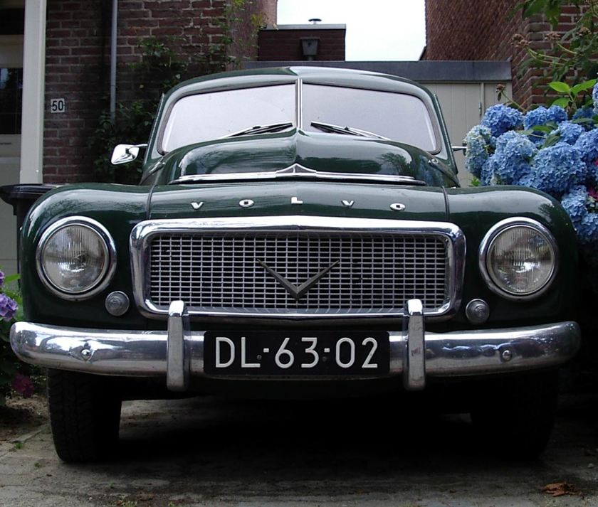 1959 Volvo PV 544 Kattenrug b