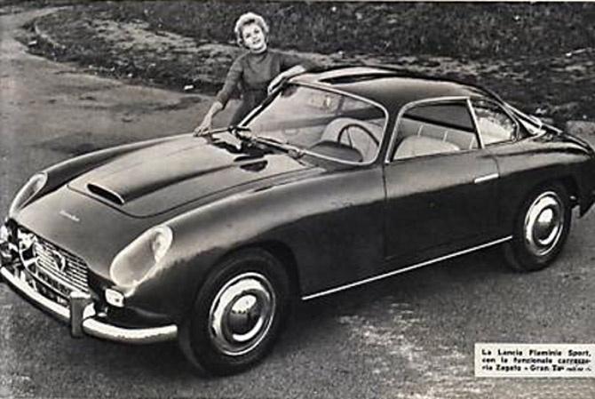 1959 Zagato Lancia Flaminia 2500 Sport