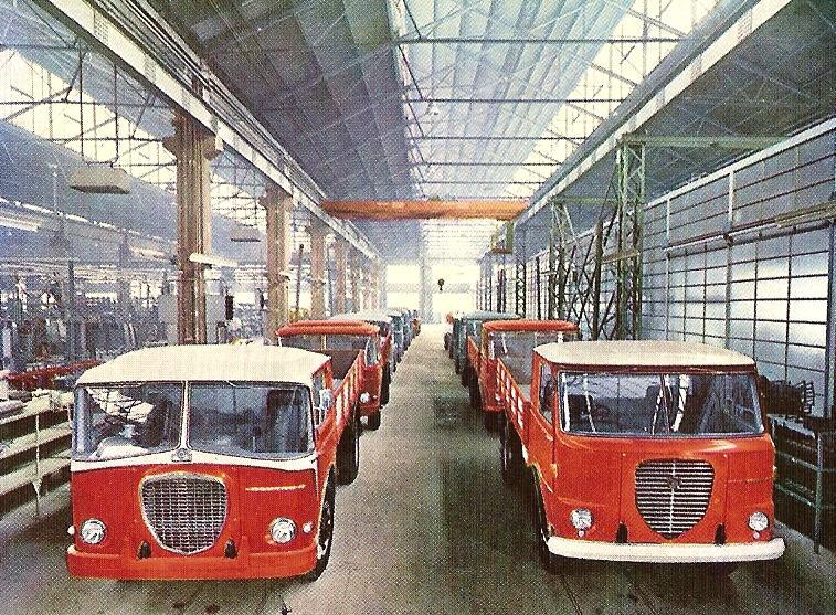 1960-61 Autocarri Lancia Esatau 503 e Esadelta 401