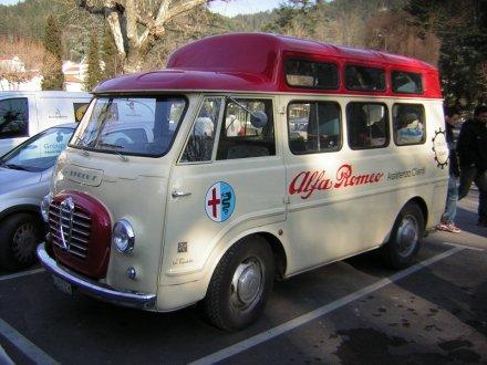 1960 Alfa Romeo Service RegCH