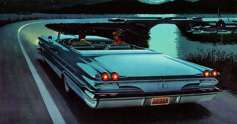 1960 Pontiac Bonneville Fitz-and-Van illustration