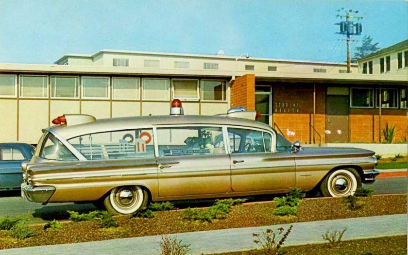 1960 Pontiac Superior Criterion Ambulance