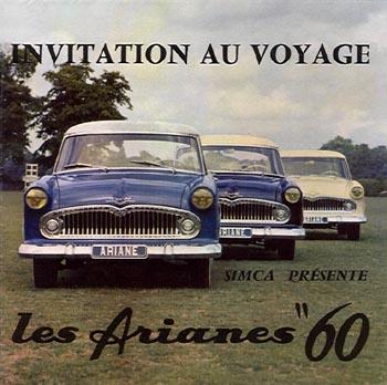 1960 simca ariane a