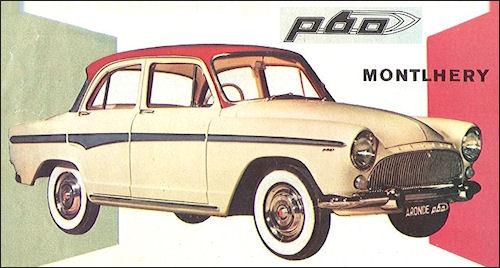 1960 Simca Aronde Montlhery