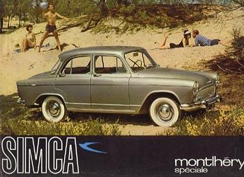 1960 simca monthéry p60b