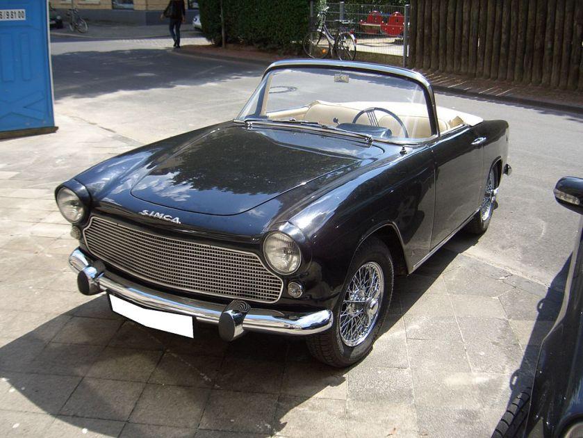 1960 Simca Sport Océane.