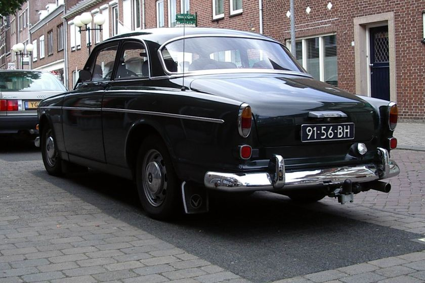 1960 Volvo 122 tweedeurs Amazone groen a
