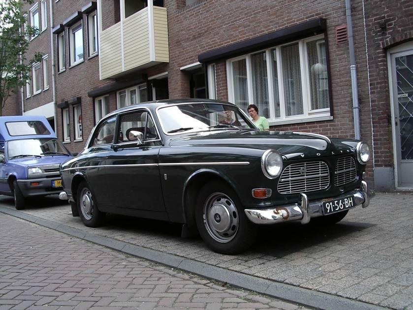 1960 Volvo 122 tweedeurs Amazone groen c