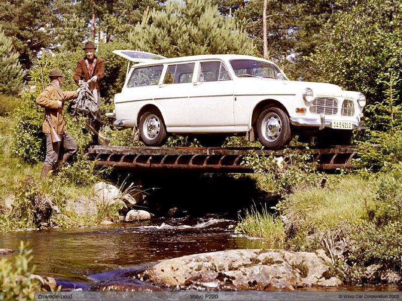1960 Volvo 220 1