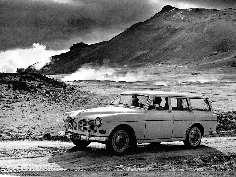 1960 Volvo 220 2