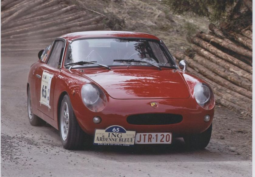 1961 Abarth Monomille, rebodied Fiat 600 chassis