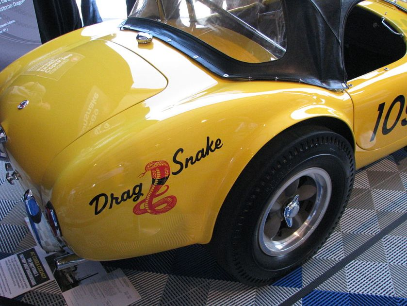 1961 Cobra 289 Dragonsnake (CSX 2427)