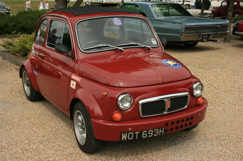 1961 Fiat_500_Abarth_-_Flickr_-_Supermac1961