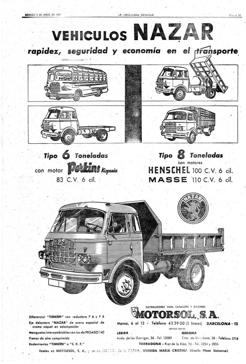 1961 Nazar ad