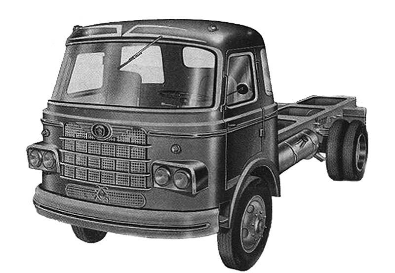 1961 Nazar truck in