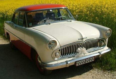 1961 Simca Ariane