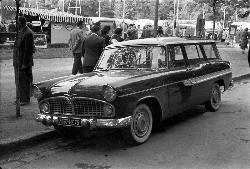 1961 Simca Vedette Marly (deuxième génération)