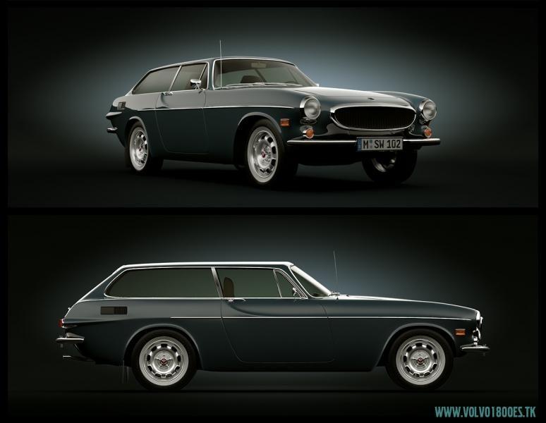 1961 Volvo 1800 reclame