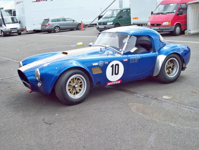 1962-69 AC Cobra 289  Engine 4727cc V8 a