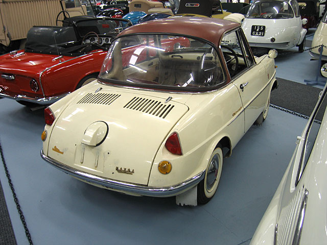 1962 Mazda R-360 Coupe De Luxe achterkant (J)