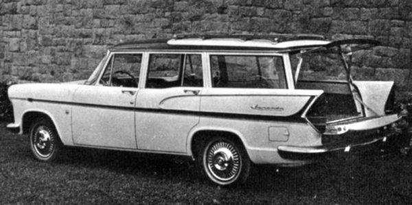 1962 Simca Jangada Tufao