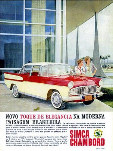 1962 Simca Vedette Chambord 1962 Brazil